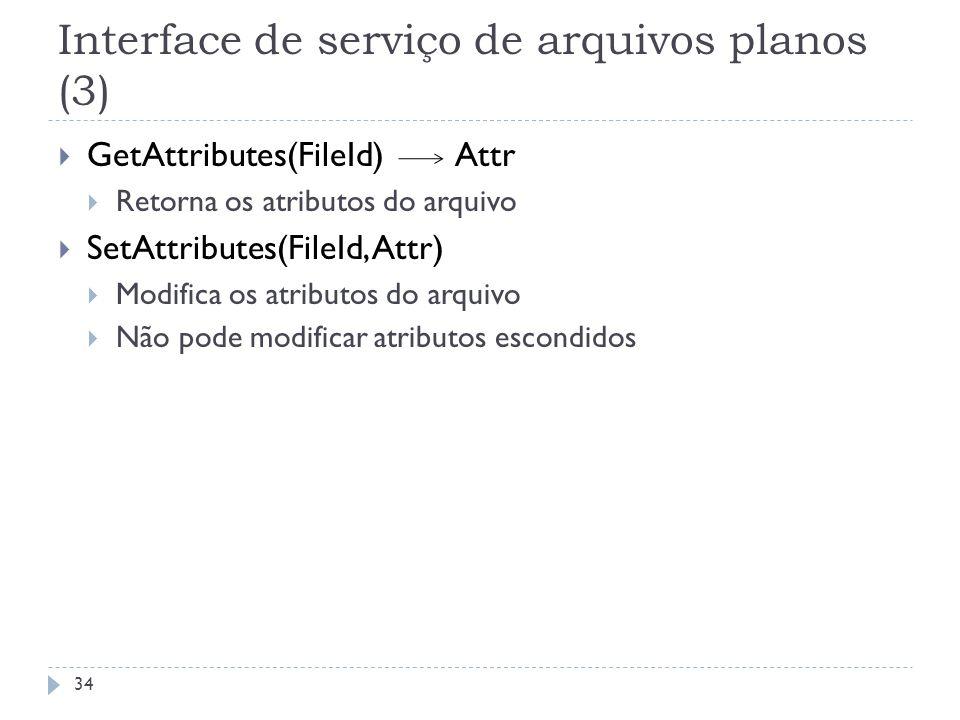 Interface de serviço de arquivos planos (3)