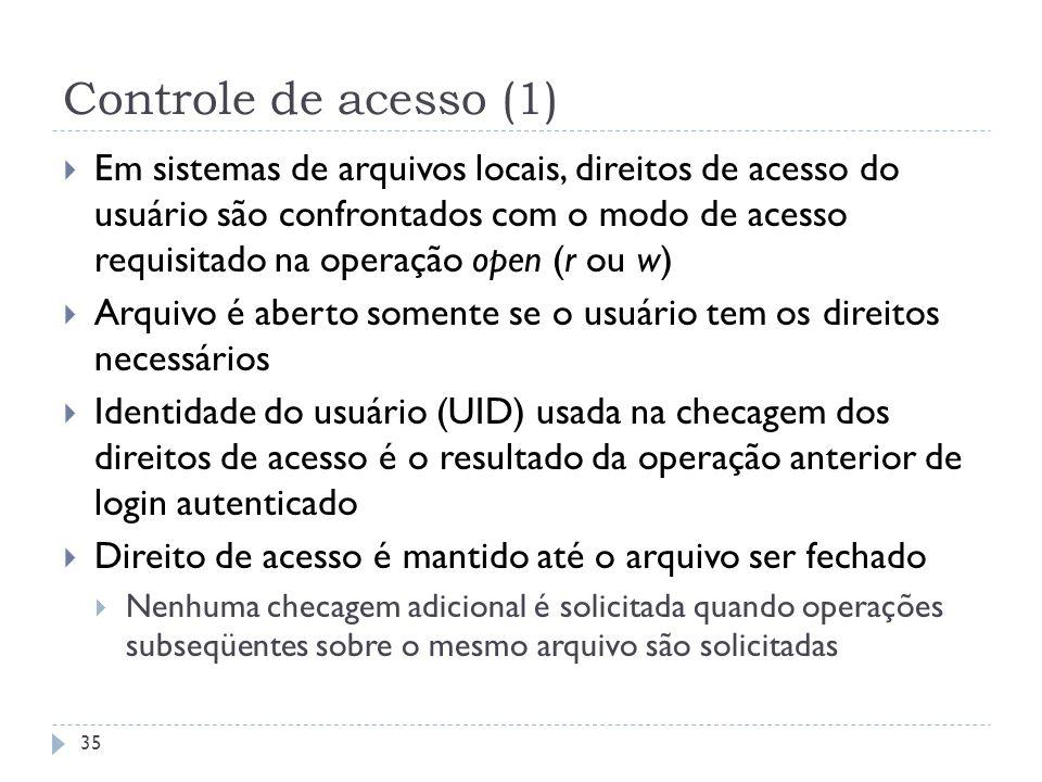 Controle de acesso (1)