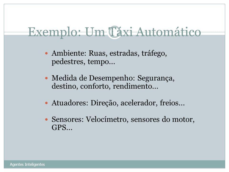 Exemplo: Um Táxi Automático