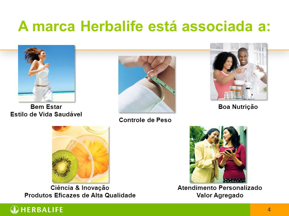 A marca Herbalife está associada a: