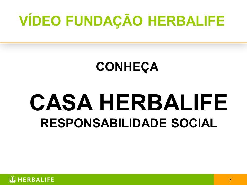 VÍDEO FUNDAÇÃO HERBALIFE RESPONSABILIDADE SOCIAL
