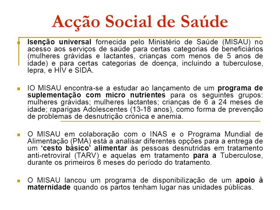 Acção Social de Saúde