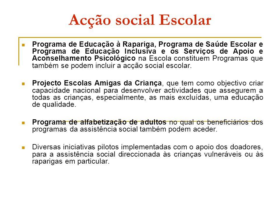 Acção social Escolar