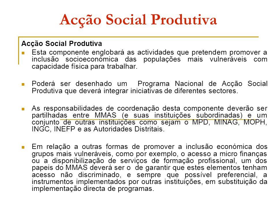 Acção Social Produtiva