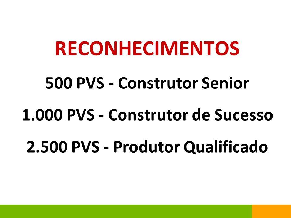 RECONHECIMENTOS 500 PVS - Construtor Senior