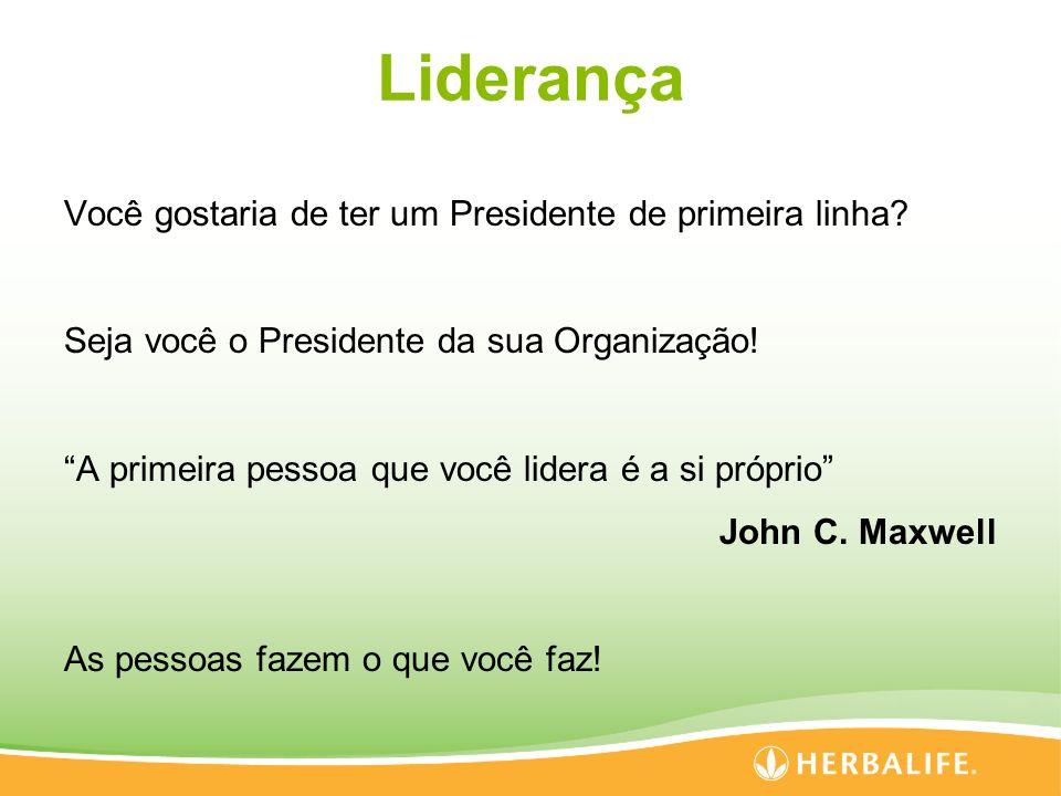 Liderança Você gostaria de ter um Presidente de primeira linha