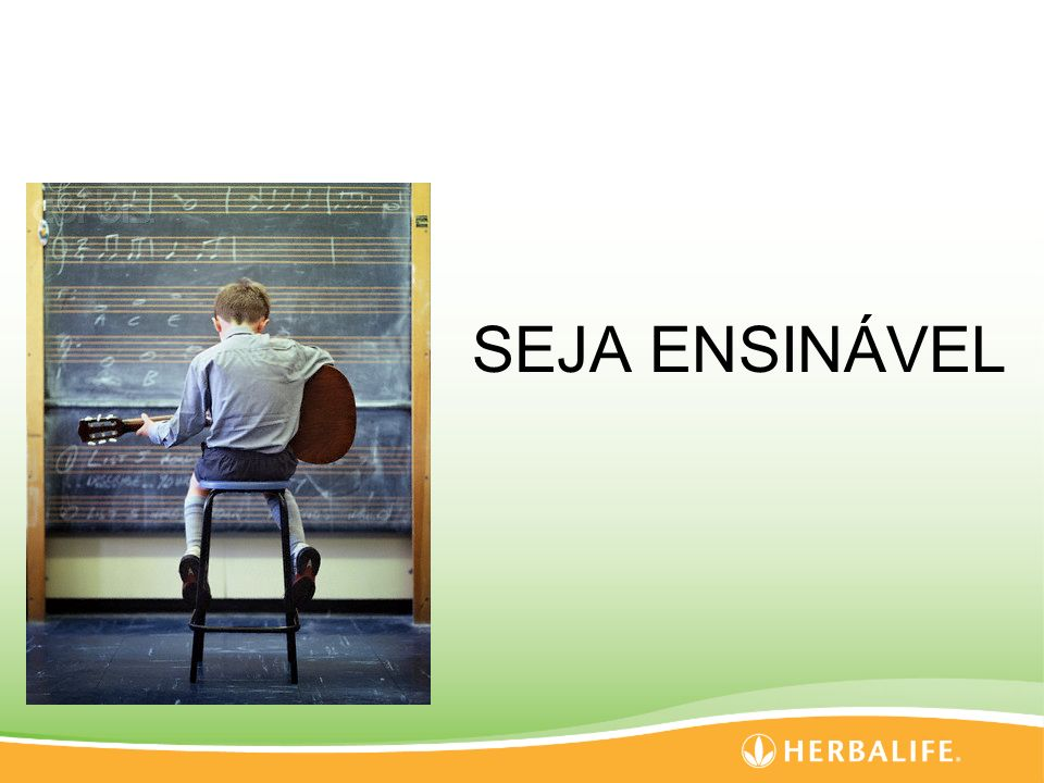 SEJA ENSINÁVEL