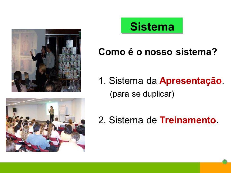 Sistema Como é o nosso sistema 1. Sistema da Apresentação.
