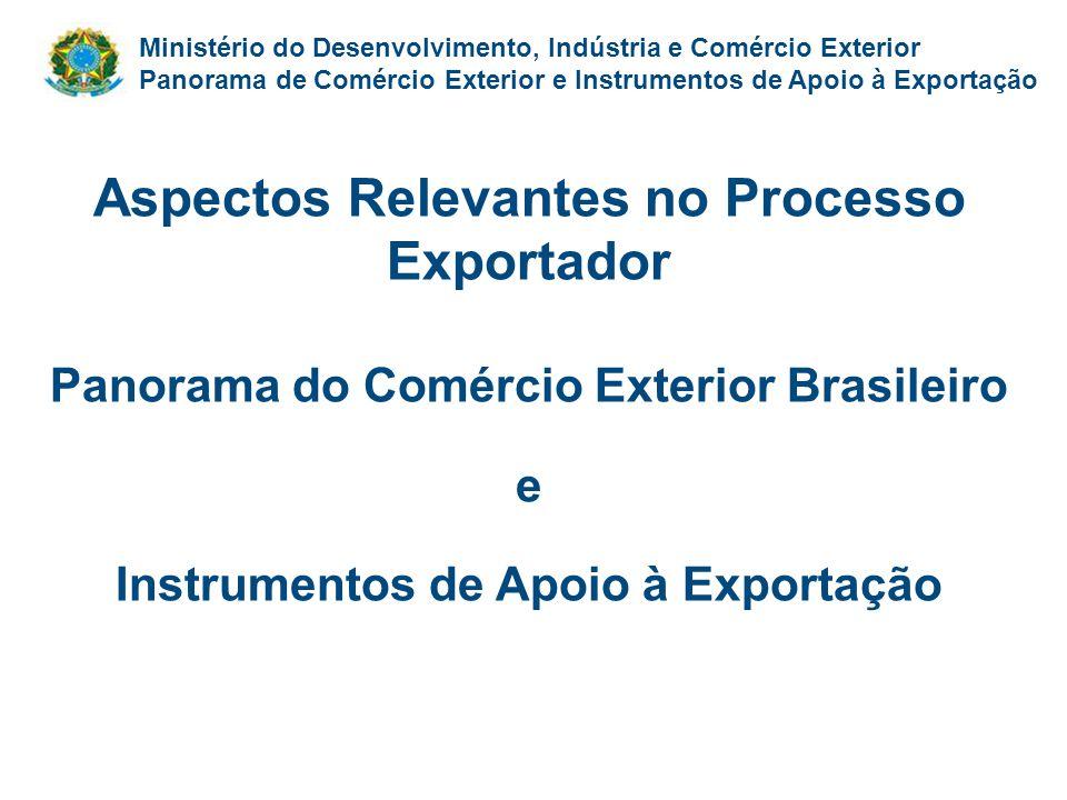 Aspectos Relevantes no Processo Exportador