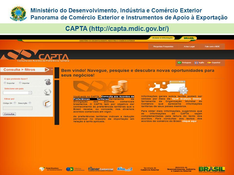 CAPTA (http://capta.mdic.gov.br/)