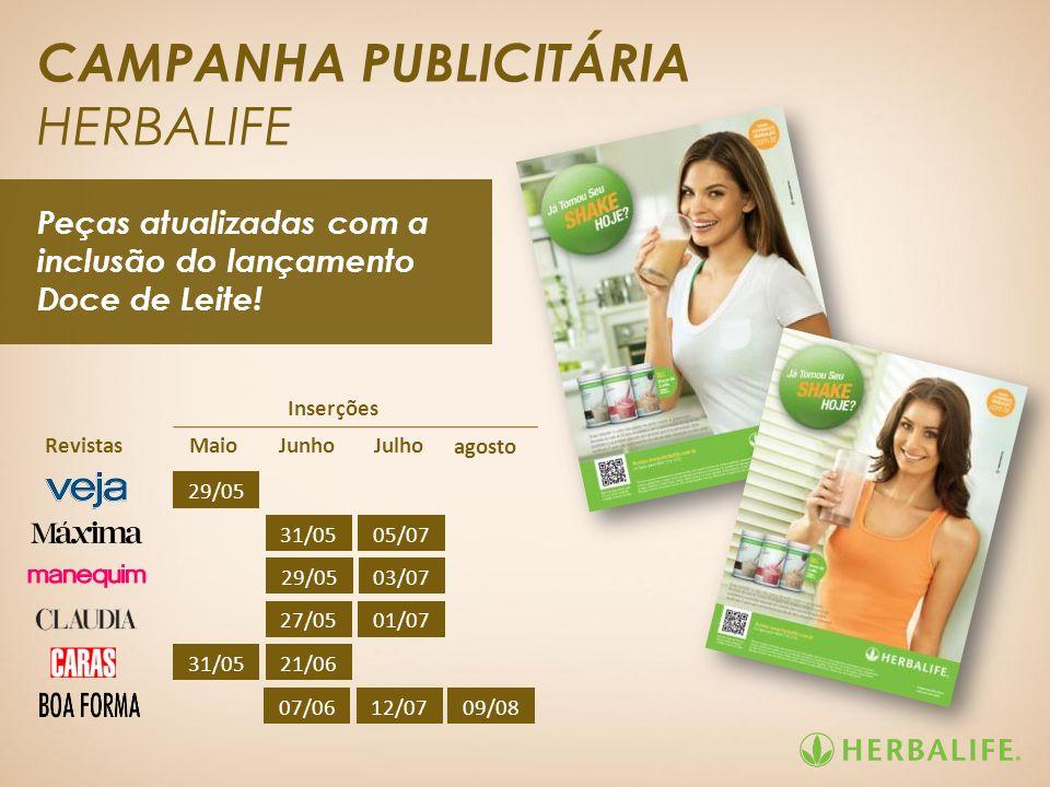 CAMPANHA PUBLICITÁRIA HERBALIFE
