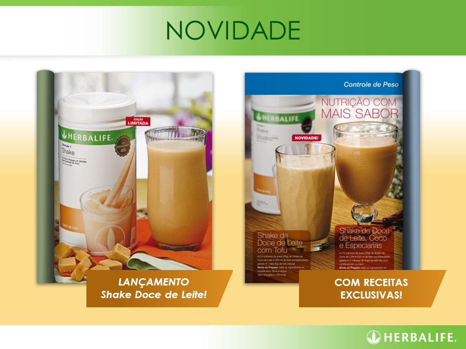 COM RECEITAS EXCLUSIVAS!
