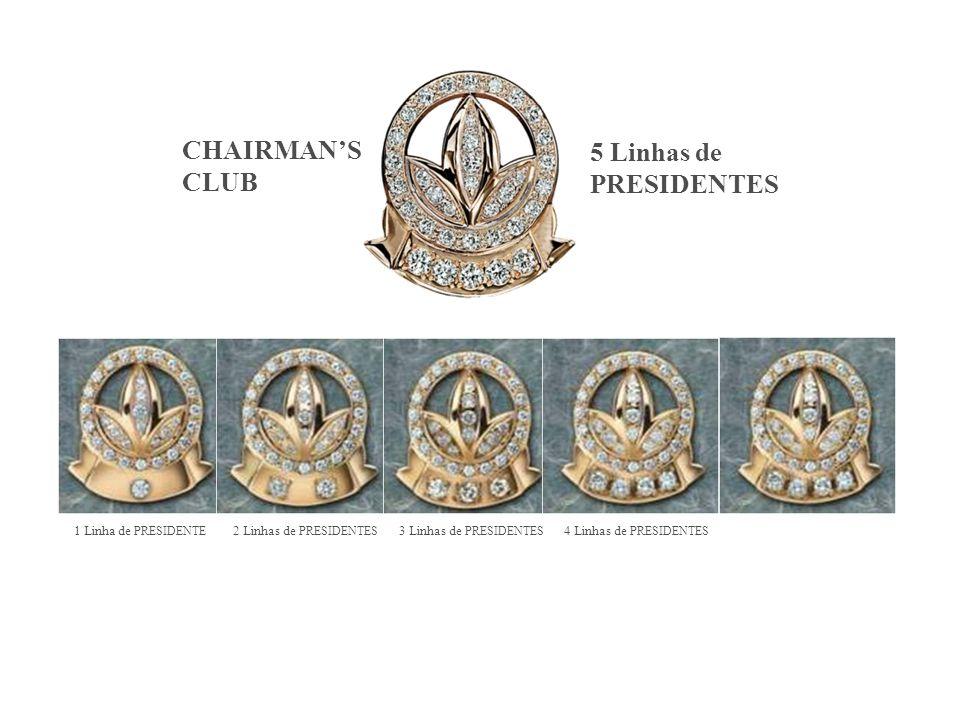CHAIRMAN'S 5 Linhas de PRESIDENTES CLUB 25/03/2017 25