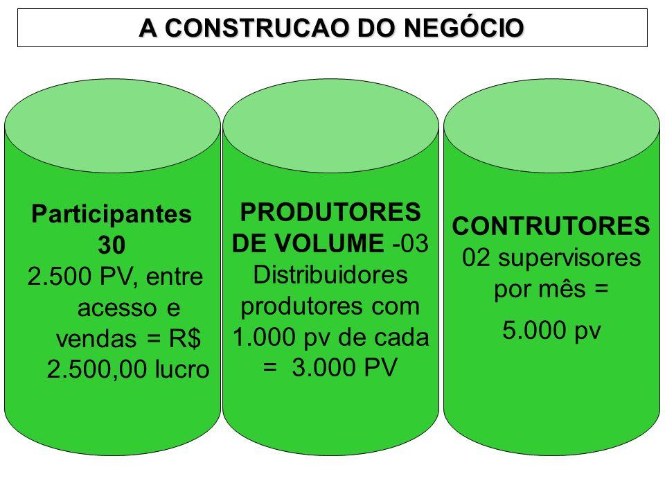 A CONSTRUCAO DO NEGÓCIO