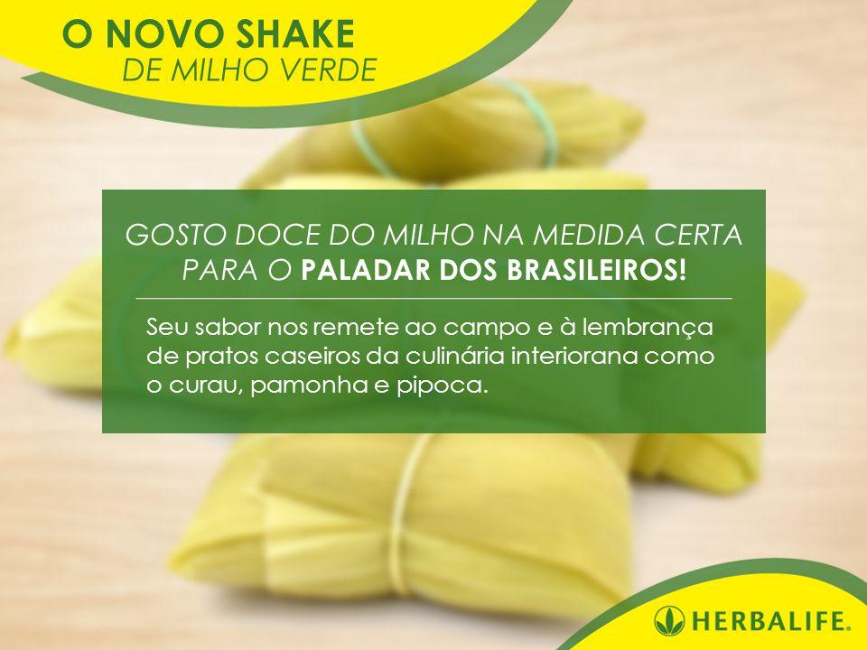 O NOVO SHAKE DE MILHO VERDE GOSTO DOCE DO MILHO NA MEDIDA CERTA