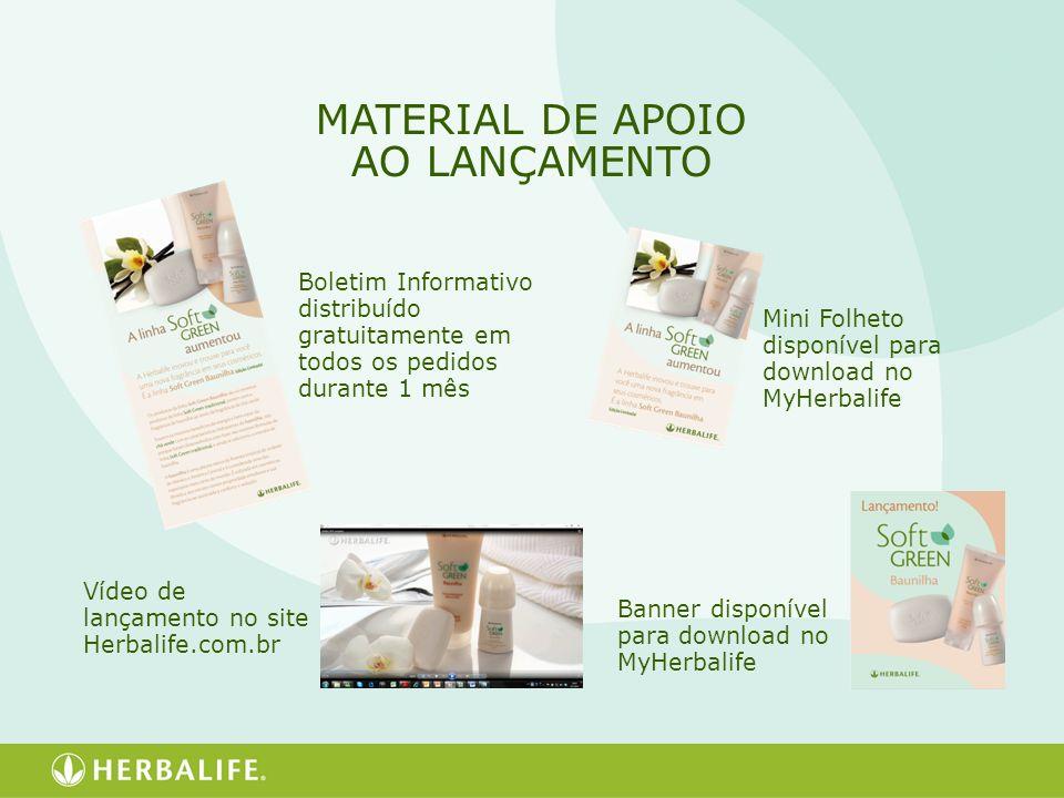 MATERIAL DE APOIO AO LANÇAMENTO
