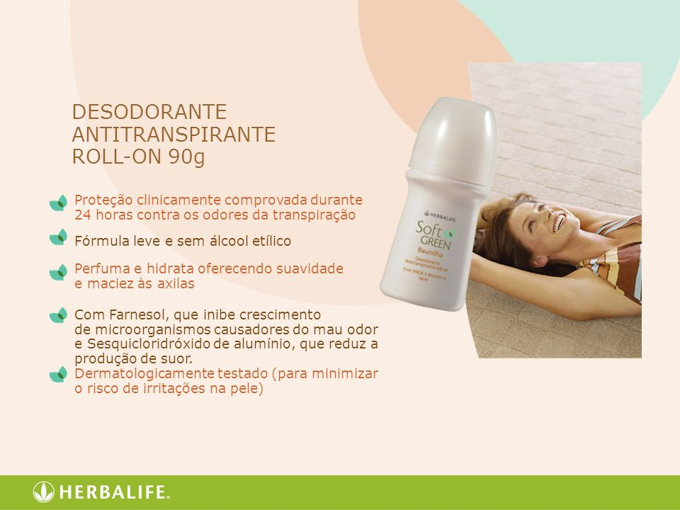 DESODORANTE ANTITRANSPIRANTE ROLL-ON 90g