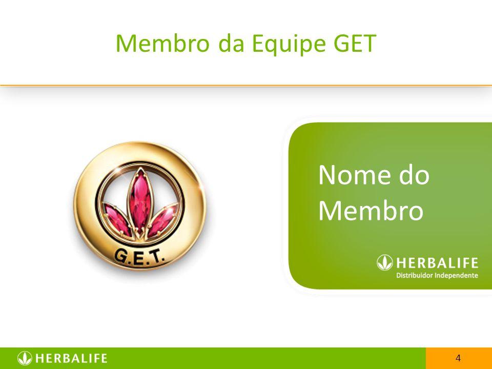 25/03/2017 Membro da Equipe GET Nome do Membro 4 4
