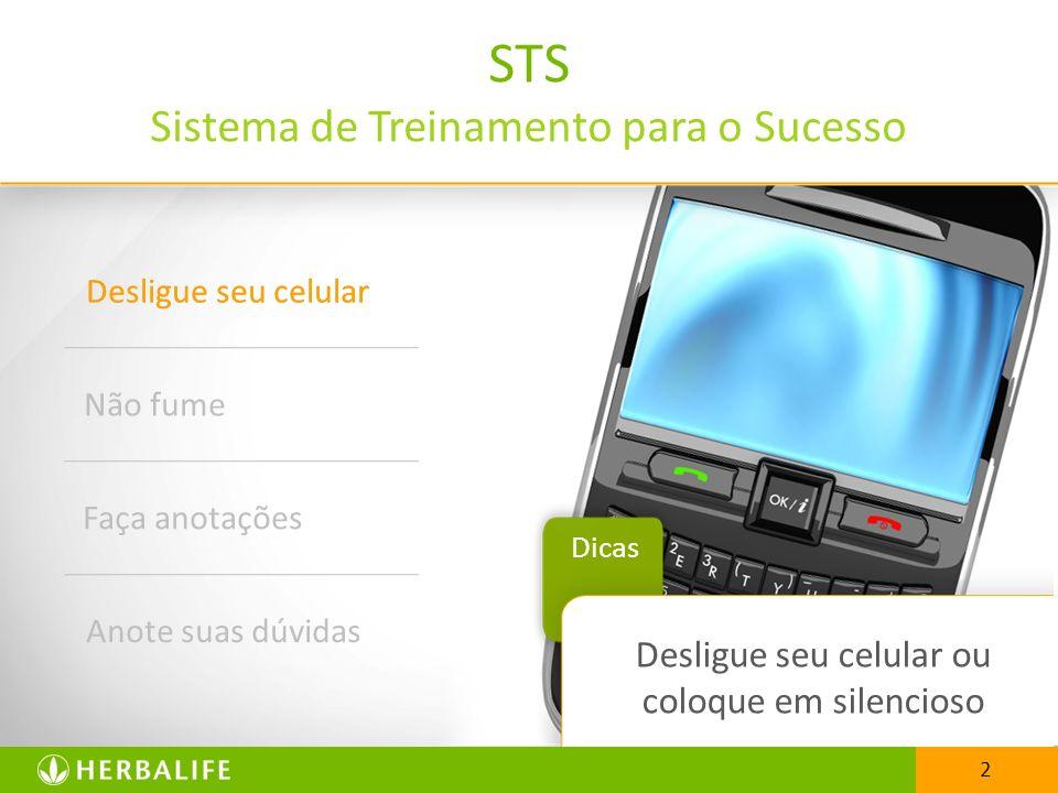 STS Sistema de Treinamento para o Sucesso