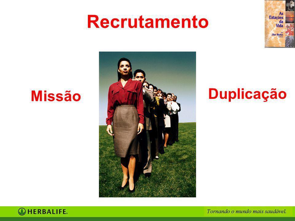 Recrutamento Duplicação Missão