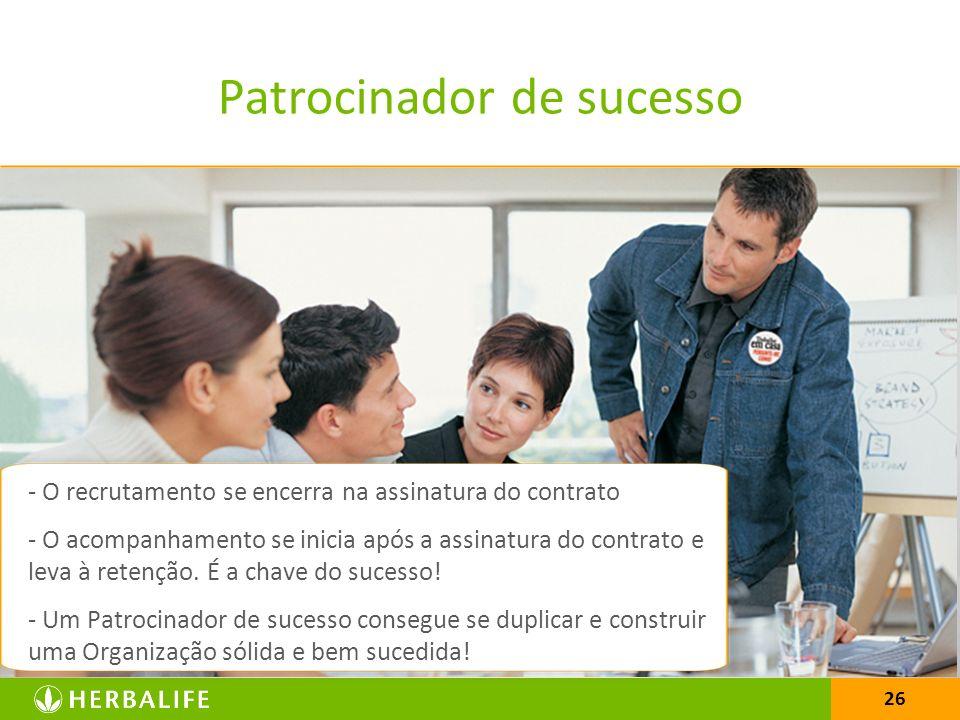 Patrocinador de sucesso