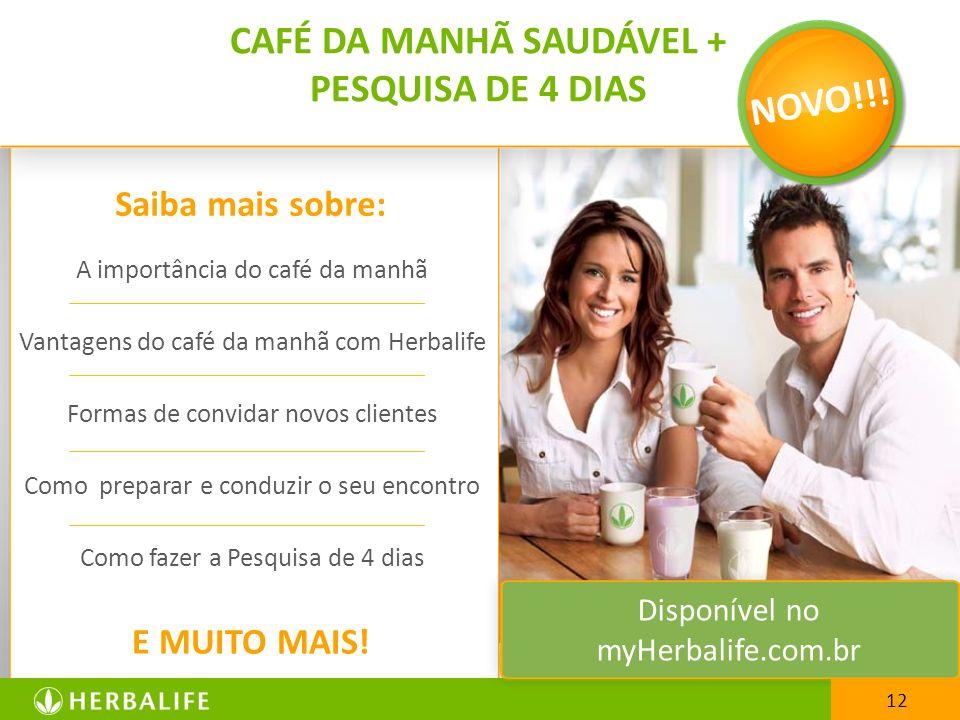 CAFÉ DA MANHÃ SAUDÁVEL +