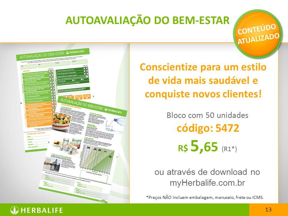 AUTOAVALIAÇÃO DO BEM-ESTAR