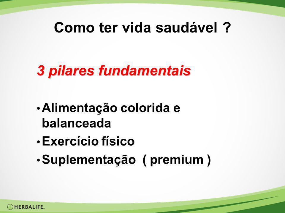 Como ter vida saudável 3 pilares fundamentais
