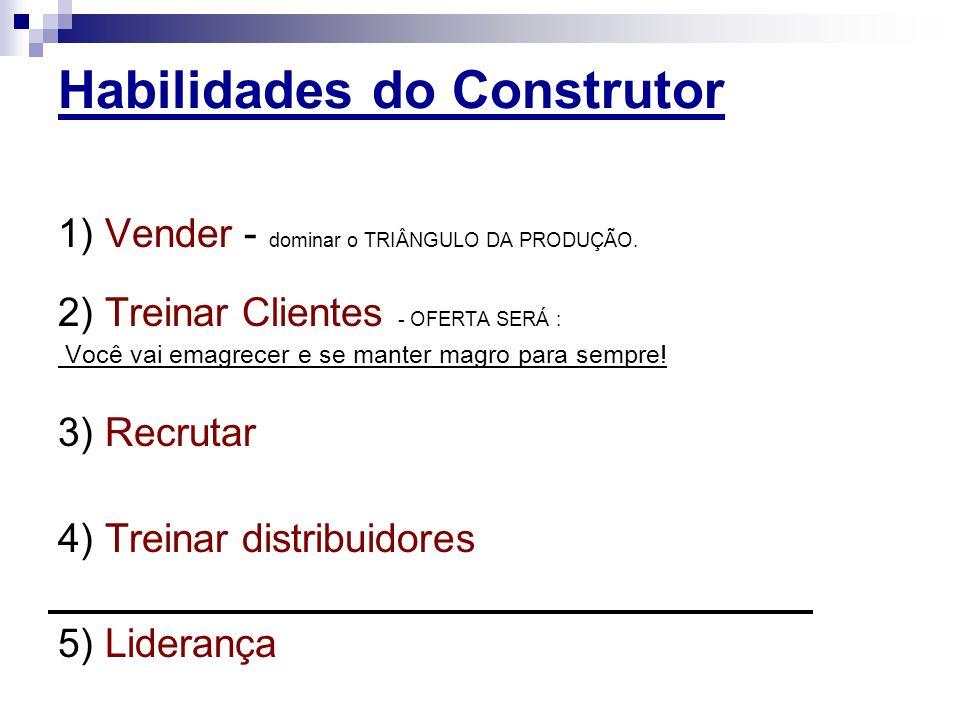 Habilidades do Construtor