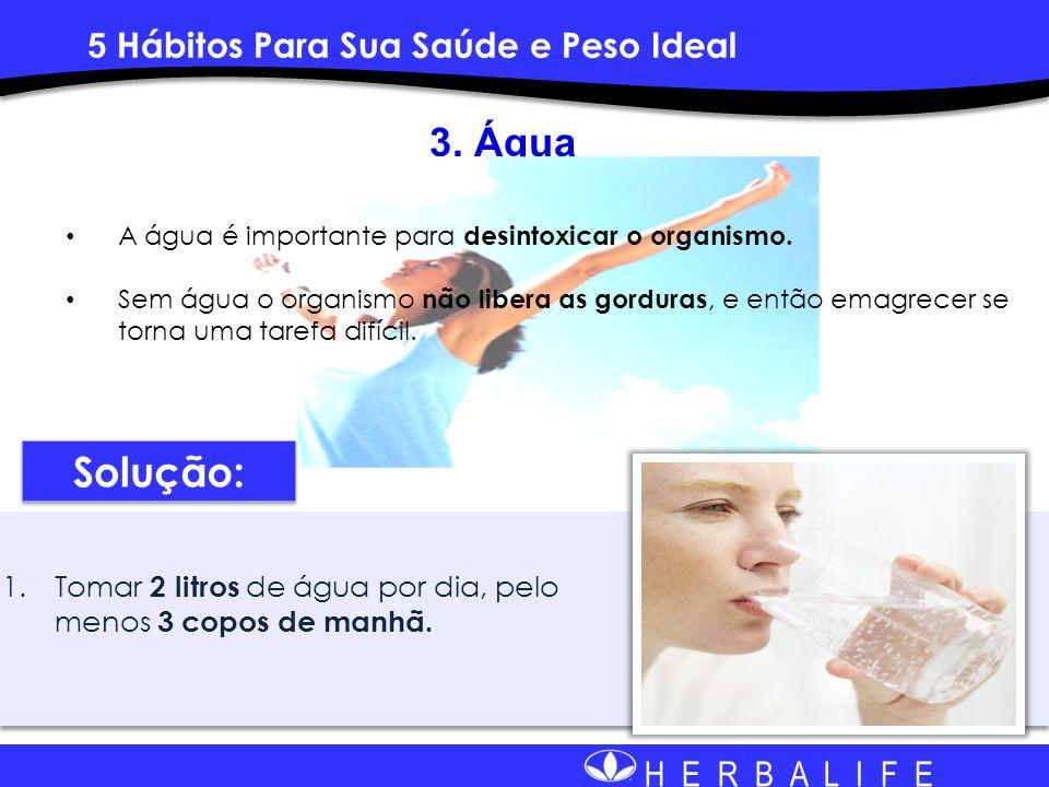 3. Água Solução: 5 Hábitos Para Sua Saúde e Peso Ideal