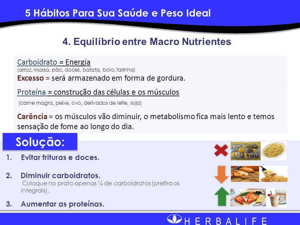 4. Equilíbrio entre Macro Nutrientes
