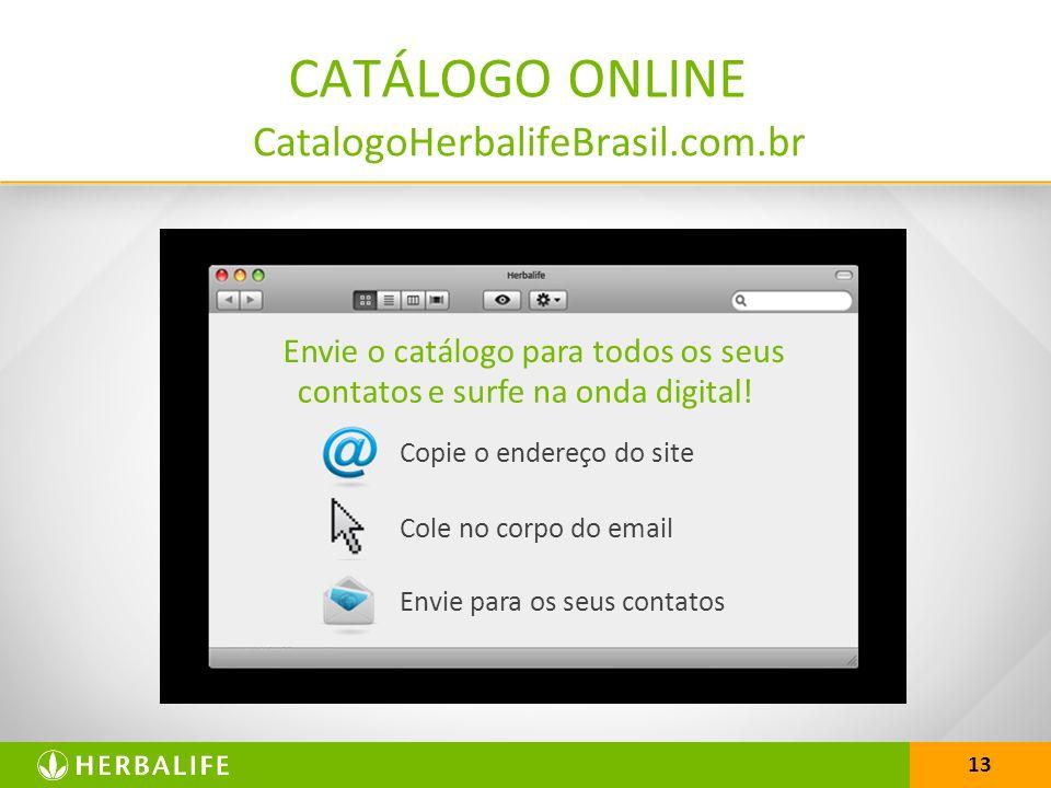 CATÁLOGO ONLINE CatalogoHerbalifeBrasil.com.br