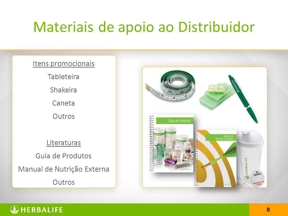 Materiais de apoio ao Distribuidor