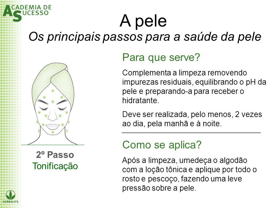 A pele Os principais passos para a saúde da pele Para que serve