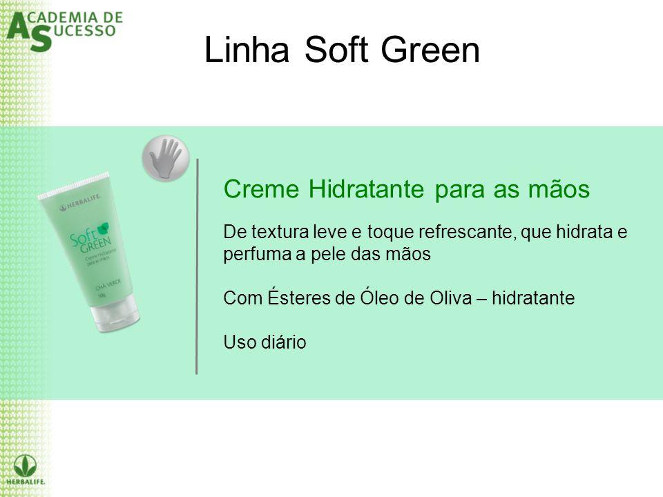Linha Soft Green Creme Hidratante para as mãos