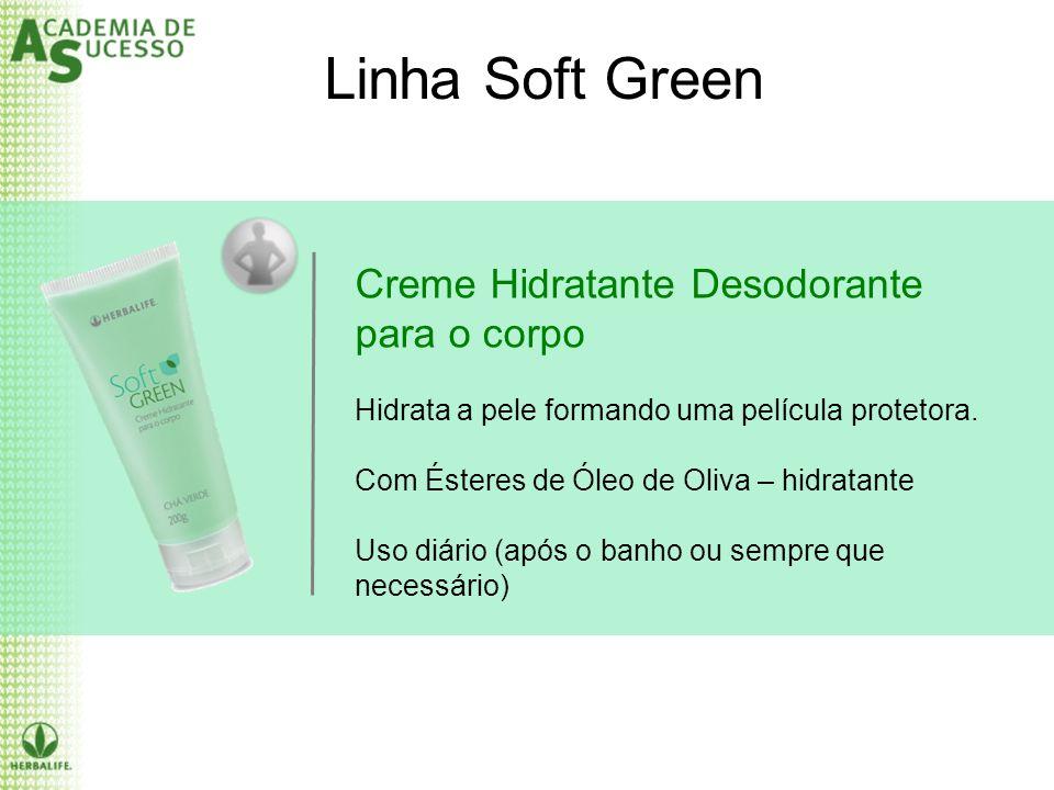 Linha Soft Green Creme Hidratante Desodorante para o corpo
