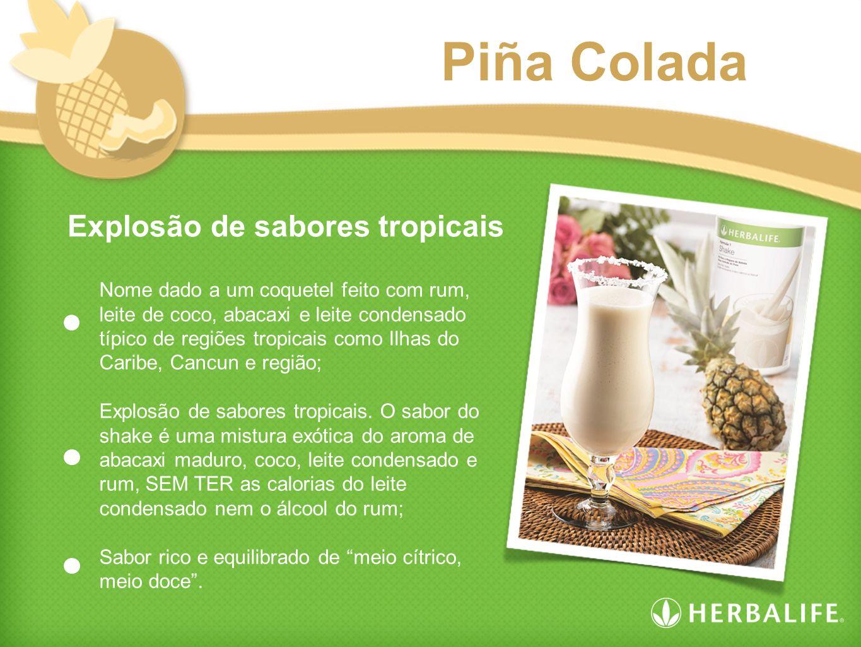 Piña Colada Explosão de sabores tropicais