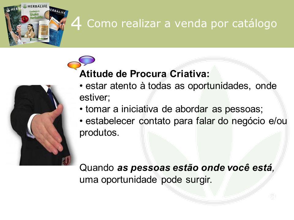 4 Como realizar a venda por catálogo Atitude de Procura Criativa: