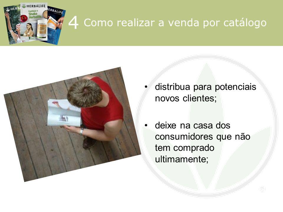 4 Como realizar a venda por catálogo