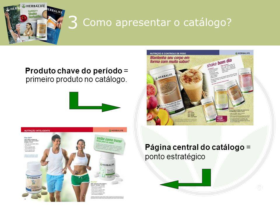 Produto chave do período = primeiro produto no catálogo.