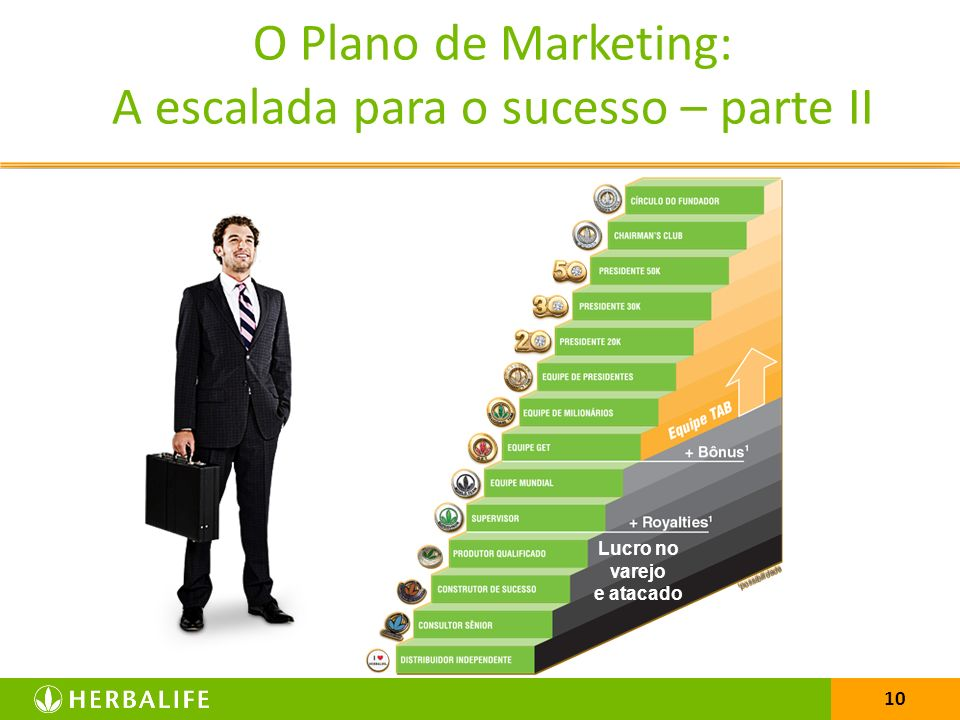 A escalada para o sucesso O Plano de Marketing: