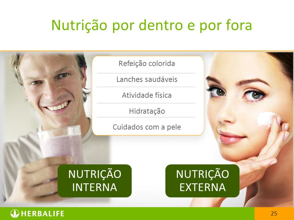 Nutrição por dentro e por fora