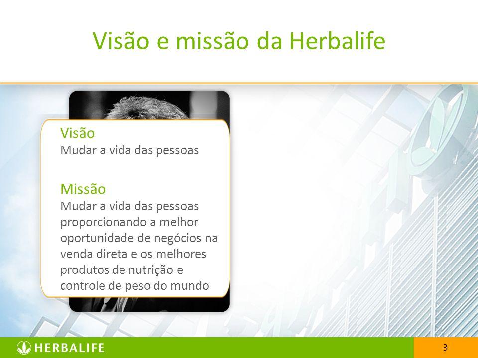 Visão e missão da Herbalife