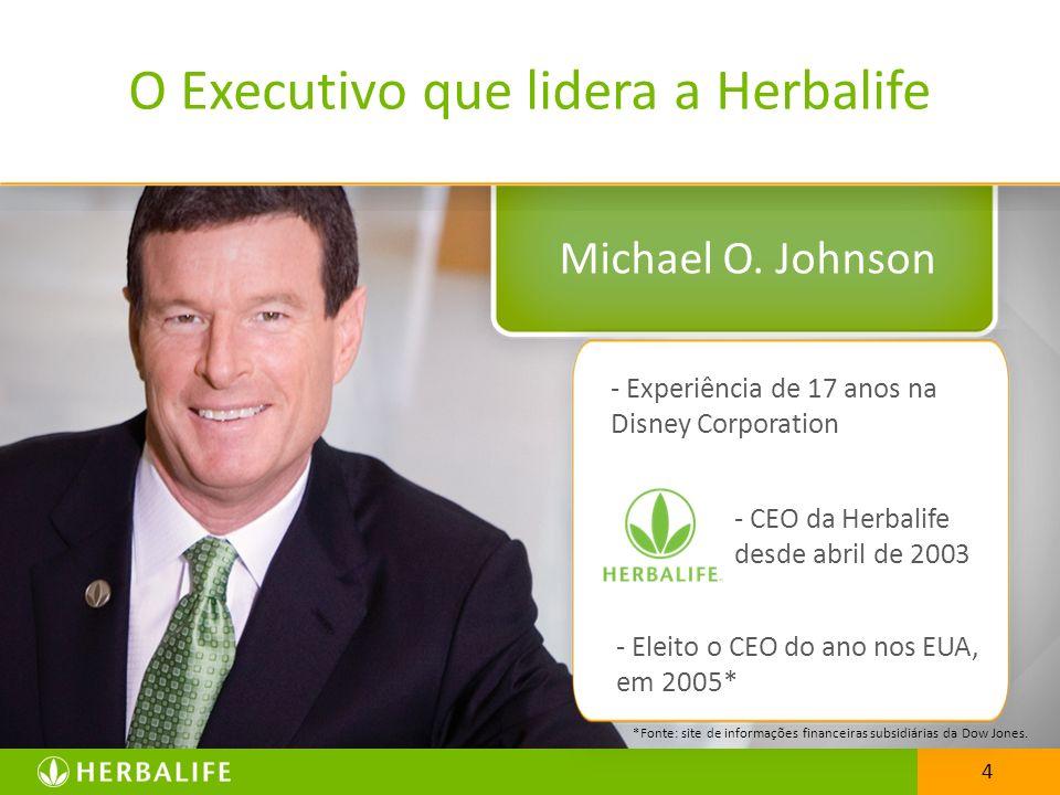O Executivo que lidera a Herbalife