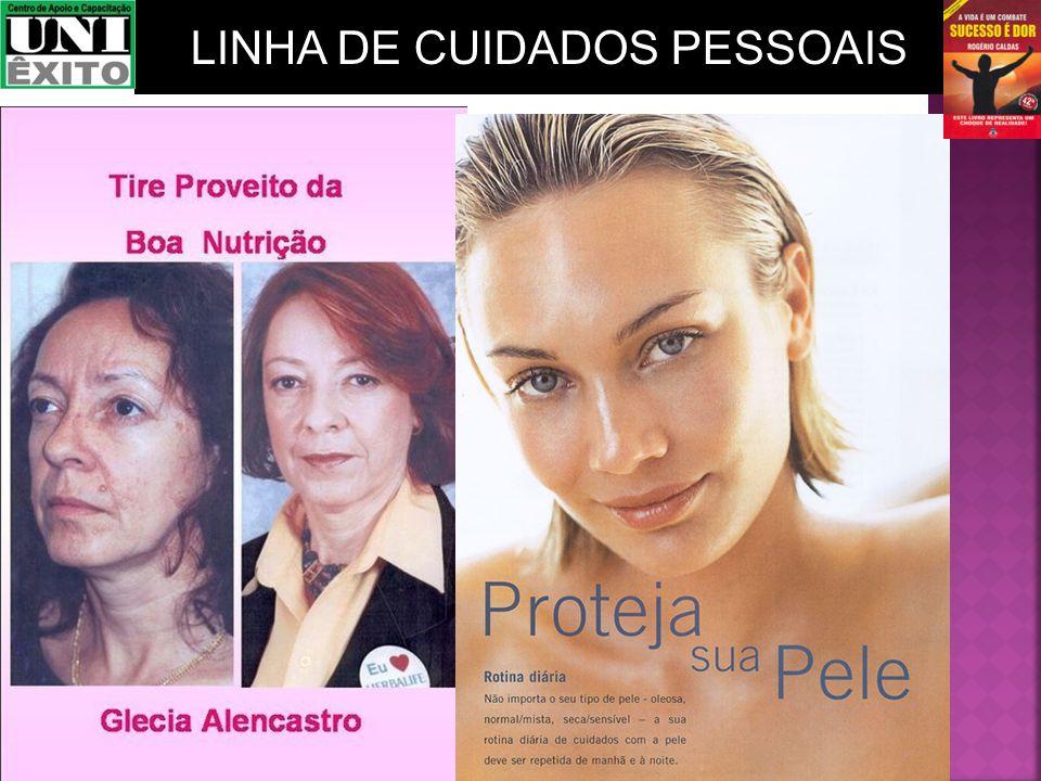 LINHA DE CUIDADOS PESSOAIS