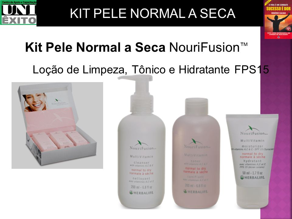Kit Pele Normal a Seca NouriFusion™