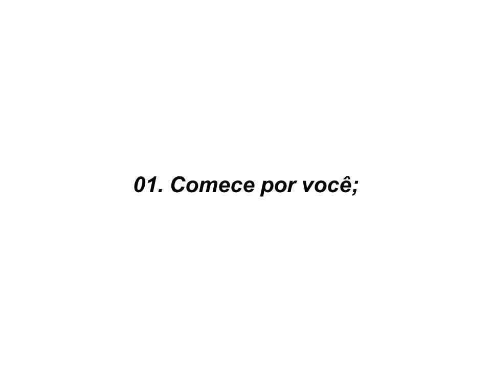 01. Comece por você;