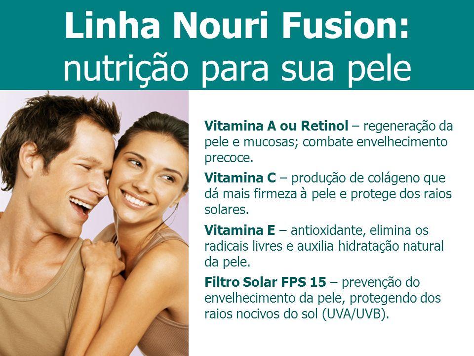 Linha Nouri Fusion: nutrição para sua pele