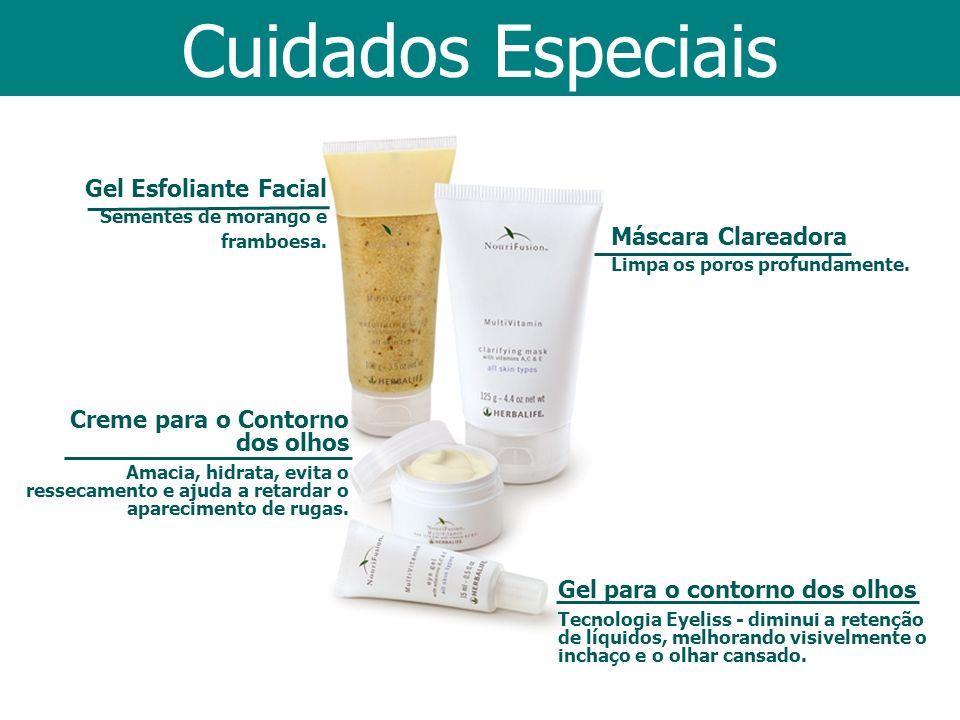 Cuidados Especiais Gel Esfoliante Facial Máscara Clareadora