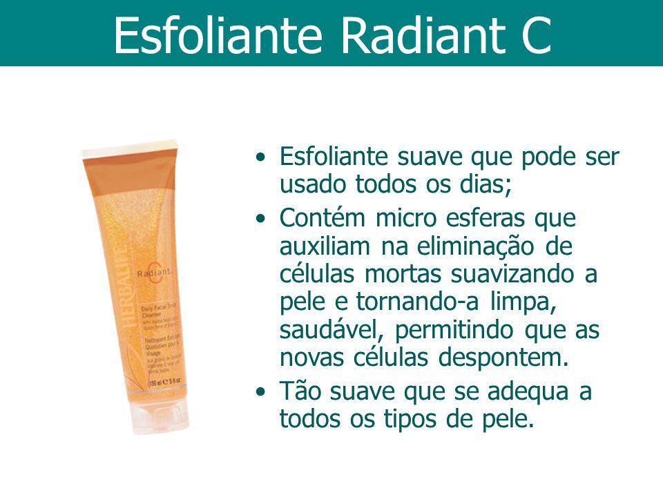 Esfoliante Radiant C Esfoliante suave que pode ser usado todos os dias;